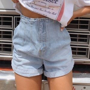 Princess Polly jean shorts